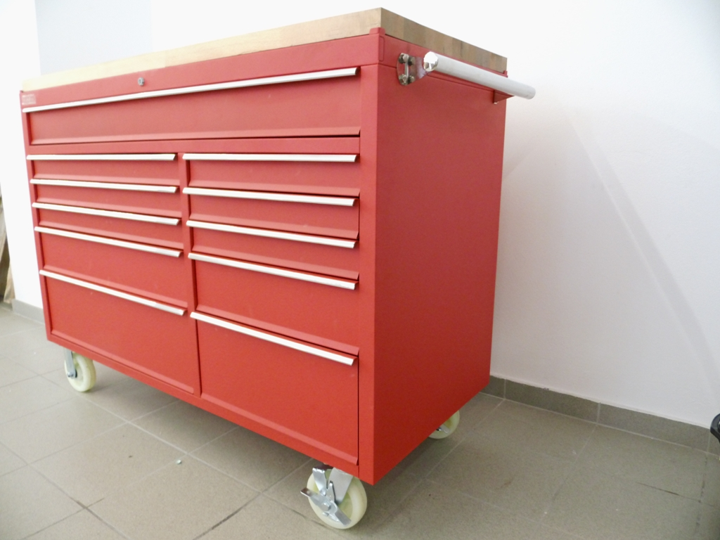 Mobile Werkbank stainless