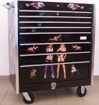 "Tool Cabinet ""Pin Up"""